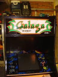 Galaga Arcade Cabinet Galaga Enteryourinitials
