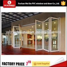 Upvc Folding Patio Doors Prices High Quality Sale Pvc Upvc Glass Folding Patio Doors Price