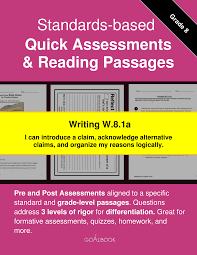 W 8 1 Argument Writing Writing 8th Grade