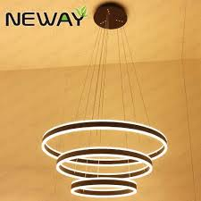 Chandelier Led Lights Direct Indirect Round Circle Led Strip Chandelier Lights Wholesale