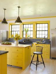 Yellow Kitchen Decorating Ideas Yellow Wooden Kitchen Decorating Ideas Joshta Home Designs Dark
