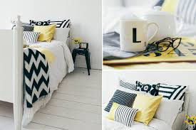 Black And White Bedroom Black White And Yellow Bedroom Photos And