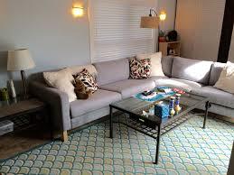 Sectional Sleeper Sofa Furniture Modern Minimalist Living Room With Pretty Ikea