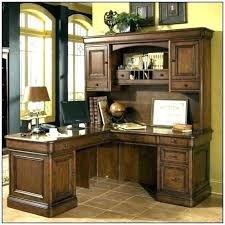 Flare Series L Shaped Office Desk Hutch Included Home With Build Bf