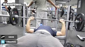 Training Bench Press Strength Training Bench Press 80kg Weight Body Weight 80kg