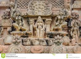 God Statue Hindu God Statue In Brihadeeswarar Temple Stock Photo Image