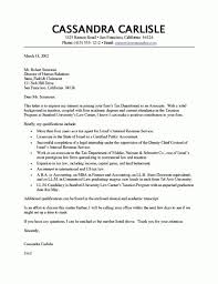 tax accountant cover letter