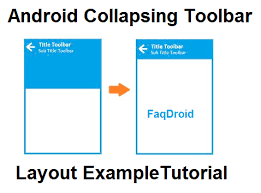 android toolbar tutorial android material design collapsing toolbar layout exle tutorial
