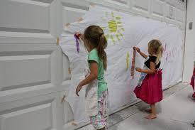 let kids create spongy mural painting spongy mural painting