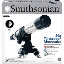 Hayneedle Telescope by Smithsonian 30x Telescope Monocular Kit Walmart Com