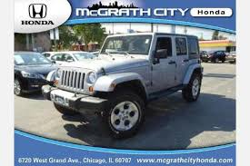 2013 jeep wrangler mileage used jeep wrangler for sale in chicago il edmunds