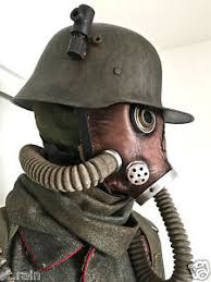 gas mask costume sucker punch wwi german soldier prop costume wwii gas