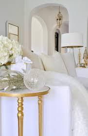christmas home tour featuring decor gold designs