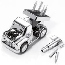 cadeau bureau homme porte outils camion décoration de bureau idée de cadeau pour