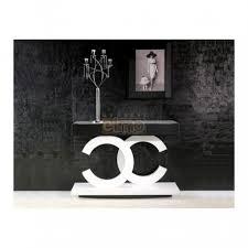 meubles entrée design console entrée design contemporain laque 2 tiroirs infinit