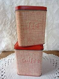 tin kitchen canisters pin by fern dean on tin storage retro and rust