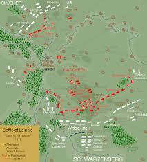 map of leipzig battle of leipzig 1813