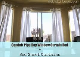 bay window curtain rod ideas dors and windows decoration bow window curtains yli tuhat ideaa bow window curtains within curtain rods for two corner windows