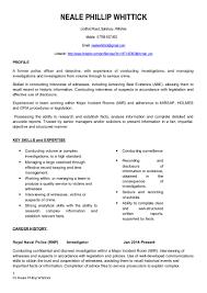 police detective resume 20150811 cv investigator