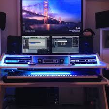 Studio Desk Music by Daniele It Is Pure Awesomeness All White Music Commander Our