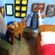 chambre gogh arles roy lichtenstein bedroom two point perspective definition view