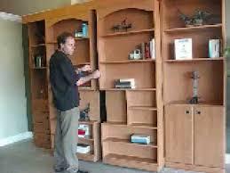 sliding bookcase murphy bed library bc2 sliding bookcase with murphy bed library unit