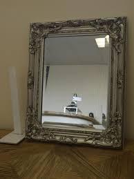 Bathroom Mirror Vintage Beveled Wall Mirror Vintage Creative Bathroom Decoration