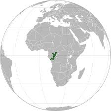 where is the republic on the world map location of the republic of the congo in the world map