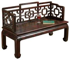 Chinese Chippendale Bench Butler Daiyu Chinese Chippendale Bench Asian Accent And
