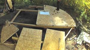 Sip Floor by 20ft Sip Yurt Platform Youtube