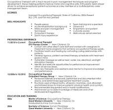 extraordinary idea physical therapy resume sample 8 use this