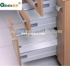 kitchen cabinet drawer slides hardware use the rev a shelf wood