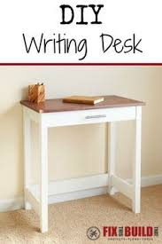 small desk plans free diy writer s desk desks woods and house
