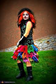Monster Costumes Halloween Homemade Monster Skelita Costume