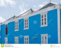 traditional dutch colonial style building stock photo image