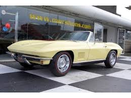 mid year corvettes 1967 chevrolet corvette roadster 327 350hp several mid year