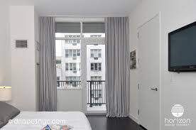 Gray Window Curtains Long Light Grey Ripplefold Curtains Installed In A Floor To