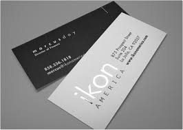 Stamped Business Card Slim Foil Stamped Business Cards Bracha Printing
