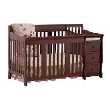 Convertible Crib Changer Portofino 4 In 1 Fixed Side Convertible Crib Changer By Stork