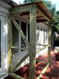 build a catio a tiny screen house for kitty cats our