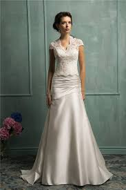 lace wedding dress with jacket trumpet mermaid strapless ruched satin wedding dress with lace