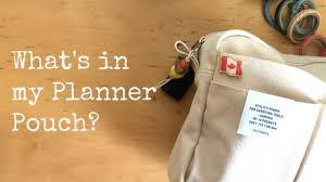 delfonics pouch what s in my planner pouch planner essentials delfonics