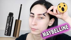 tattoo brow maybelline amazon test maybelline tattoo brow peel off giulia bencich youtube