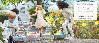 easter gifts personalized easter gifts for pottery barn