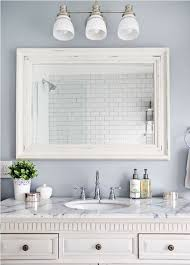 white framed mirrors for bathrooms marble counter and vintage vanity using rustic white framed mirror