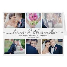 lovely writing wedding thank you card white zazzle