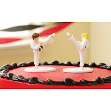 karate cake topper martial arts cake toppers birthday