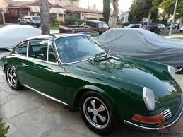 dark green porsche porsche 912 fully restored superb condition irish green