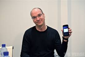 who created android android creator andy rubin is leaving the verge