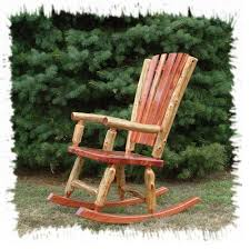 Front Patio Chairs by Furniture Astounding Light Brown Log Rocking Chair As Rustic